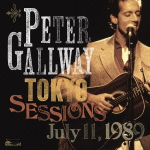 Peter Gallway/ピーター・ゴールウェイ・トーキョー・セッションズ 1989 [CD+DVD] [RATCD-4280]