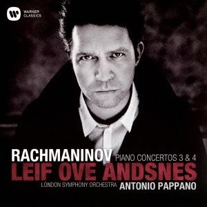 レイフ・オヴェ・アンスネス/ラフマニノフ:ピアノ協奏曲 第3番&第4番[WPCS-23159]
