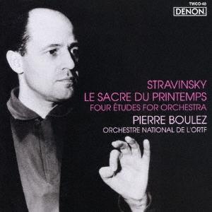 ピエール・ブーレーズ/ストラヴィンスキー:春の祭典/管弦楽のための四つのエチュード<タワーレコード限定>[TWCO-40]
