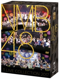 NMB48 3 LIVE COLLECTION 2017 DVD