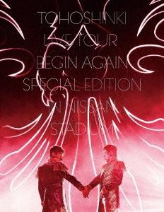 東方神起 LIVE TOUR ~Begin Again~ Special Edition in NISSAN STADIUM [2Blu-ray Disc+写真集]<初回 Blu-ray Disc