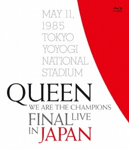 WE ARE THE CHAMPIONS FINAL LIVE IN JAPAN<通常盤> Blu-ray Disc