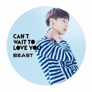 Beast (Korea)/CAN'T WAIT TO LOVE YOU<限定盤/ギグァン ver.>[POCS-1325]