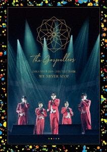 """ゴスペラーズ坂ツアー2019~2020 """"G25"""" 特別編 WE NEVER STOP<初回限定デジパック仕様> DVD"""