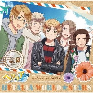 アニメ「ヘタリア World★Stars」キャラクターソング&ドラマ Vol.2 [CD+缶バッジ5個セット]<豪華盤>