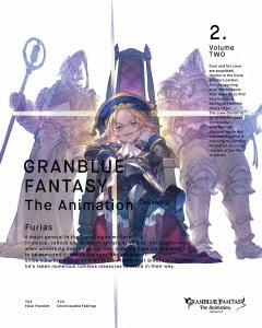 GRANBLUE FANTASY The Animation Season 2 2 [Blu-ray Disc+CD]<完全生産限定版> Blu-ray Disc