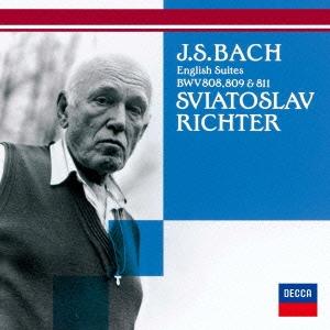 スヴャトスラフ・リヒテル/バッハ:イギリス組曲 第3番・第4番・第6番 [UCCD-9947]