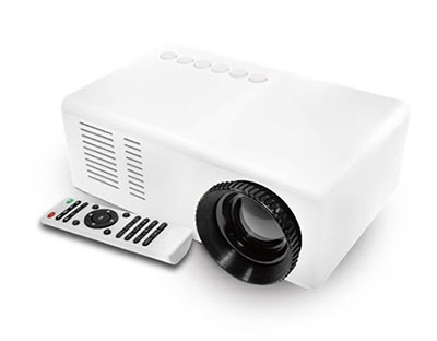 グリーンハウス コンパクトプロジェクター GH-PJTA-WH ホワイト [ホームシアター] Accessories