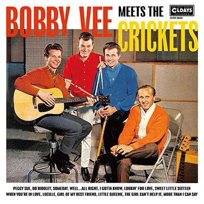 TOWER RECORDS ONLINEで買える「Bobby Vee/ボビー・ヴィー・ミーツ・ザ・クリケッツ[ODRS98006]」の画像です。価格は1,078円になります。