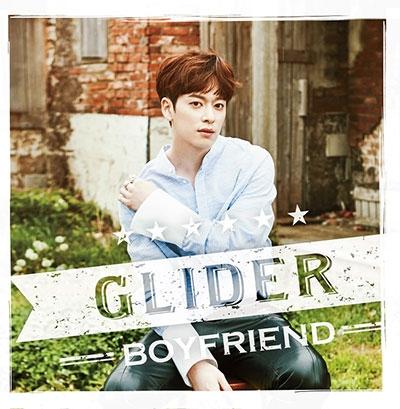 BOYFRIEND/GLIDER メンバー別ジャケット盤(ドンヒョン)[TSBD-5005]