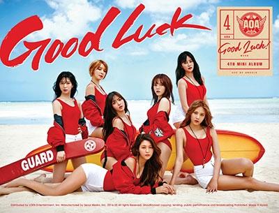 AOA (Korea)/Good Luck: 4th Mini Album (A Version/Week)[L200001243]