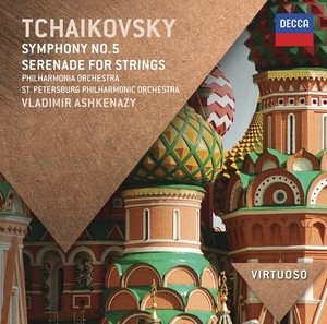ヴラディーミル・アシュケナージ/Tchaikovsky: Symphony No.5 Op.64, Serenade for Strings Op.48[4783613]