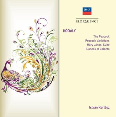 イシュトヴァン・ケルテス/Kodaly: The Peacock, Peacock Variations, Hary Janos Suite, Dances of Galanta[4804873]