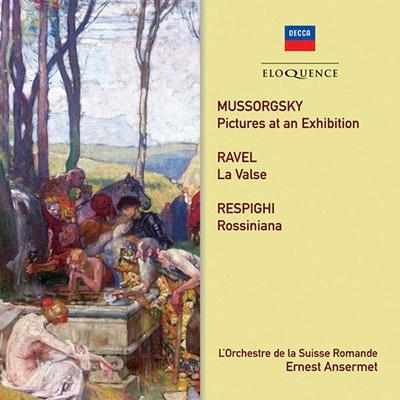 エルネスト・アンセルメ/ムソルグスキー、ラヴェル、レスピーギ: 管弦楽作品集[4824983]
