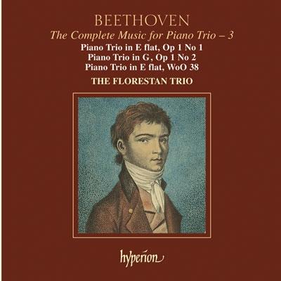 Florestan Trio/Beethoven: Piano Trios Op 1 no 1 &2, WoO 38 /Florestan Trio[CDA67393]
