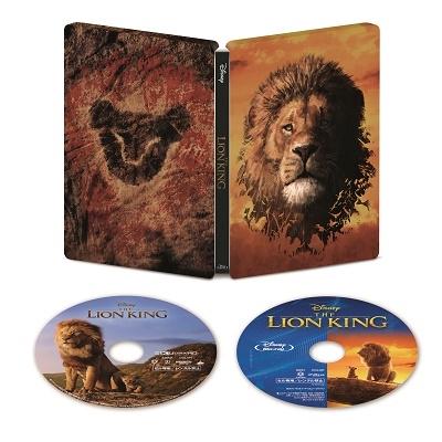 ライオン・キング 4K UHD MovieNEX スチールブック [4K Ultra HD Blu-ray Disc+Blu-ray Disc]<数量限定 Ultra HD
