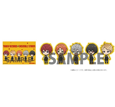 あんさんぶるスターズ!! × TOWER RECORDS ユニットステッカーセット Knights Accessories