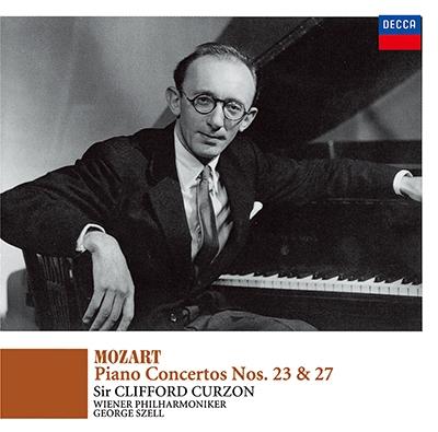 クリフォード・カーゾン/モーツァルト: ピアノ協奏曲第23番&第27番<タワーレコード限定>[PROC-1689]