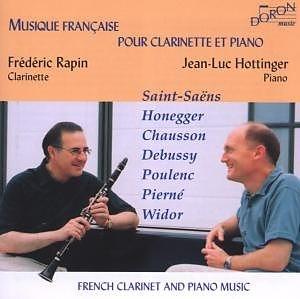 「クラリネットとピアノのためのフランス音楽集」 CD