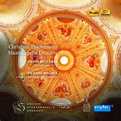 クリスティアン・ティーレマン/【ワケあり特価】Bruckner: Symphony No.7 (1944 Haas Edition); Wagner: Das Liebesmahl der Apostel WWV.69[PH15013W]