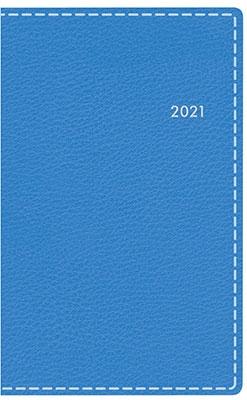 高橋書店 手帳は高橋 T'beau (ティーズビュー) 日曜始まり 3 [パウダーブルー] 手帳 2021年 手帳判 ウィークリー 皮革調 ブルー No.313 (2021年版1月始まり)[9784471803131]