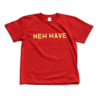 ジャンルT-Shirt NEW WAVE レッド Sサイズ[2050267561132]