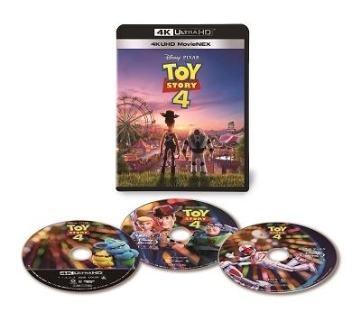 トイ・ストーリー4 4K UHD MovieNEX <ダッキー&バニー トートバッグ   TOWER RECORDS付き限定セット>