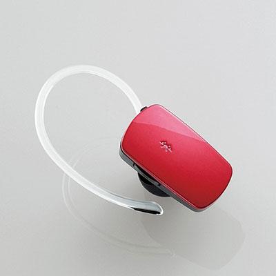 ELECOM Bluetooth 携帯用超小型ヘッドセットHS400M/レッド [LBT-MPHS400MRD]