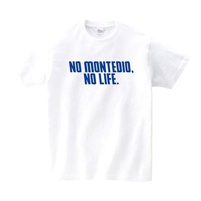 NO MONTEDIO, NO LIFE. 2020 T-shirts(ホワイト) XLサイズ Apparel