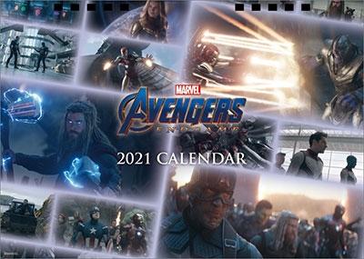 卓上 MARVEL カレンダー 2021[CL364]
