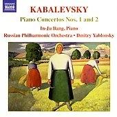ドミトリ・ヤブロンスキー/KABALEVSKY:PIANO CONCERTO NO.1 OP.9/PIANO CONCERTO NO.2 IN G MINOR, OP.23(1935 REV.1973):DMITRY YABLONSKY(cond)/RUSSIAN PHILHARMONIC ORCHESTRA/IN-JU BANG(p)[8557683]