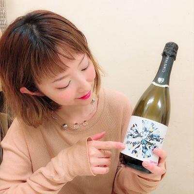 moumoonスパークリングワイン