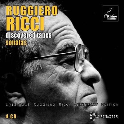 ルッジェーロ・リッチ・エディション3~新発見テープからのソナタ集