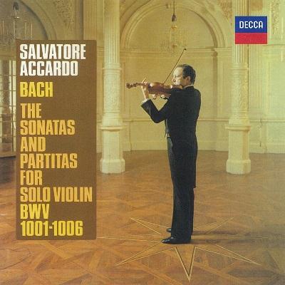サルヴァトーレ・アッカルド/J.S.バッハ: 無伴奏ヴァイオリンのためのソナタ&パルティータ 全曲 [PROC-1824]