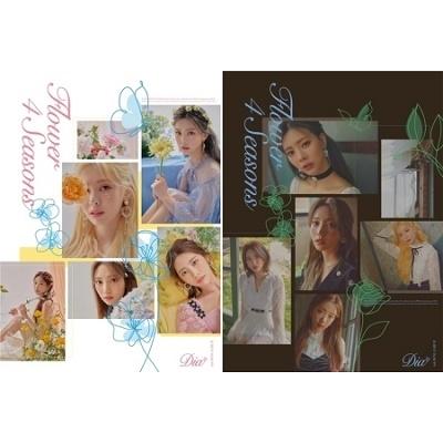 Flower 4 Seasons: 6th Mini Album (ランダムバージョン) CD