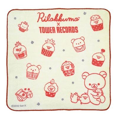 Rilakkuma × TOWER RECORDS コラボミニハンドタオル 2019 Accessories