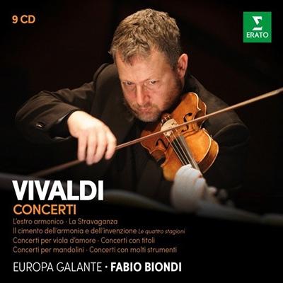 ヴィヴァルディ: 協奏曲集<限定盤> CD
