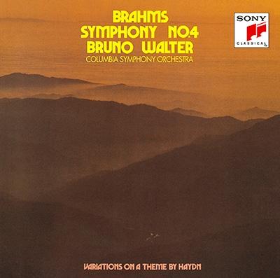 ブルーノ・ワルター/ブラームス:交響曲第4番&ハイドンの主題による変奏曲 [Blu-spec CD2] [SICC-30313]