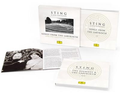 【ワケあり特価】Songs from the Labyrinth (Anniversary Edition) [CD+DVD]<限定盤>
