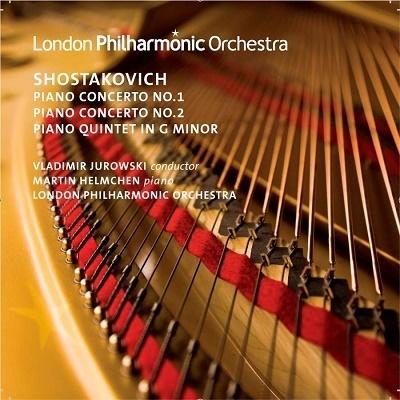 マルティン・ヘルムヒェン/ショスタコーヴィチ: ピアノ協奏曲第1番、第2番、ピアノ五重奏曲[LPO0053]