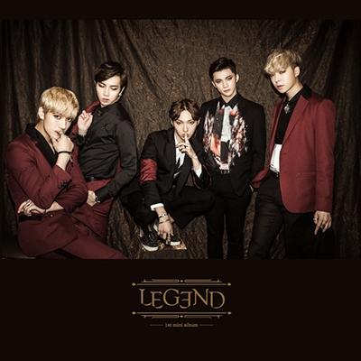 Legend 1st Mini Album CD
