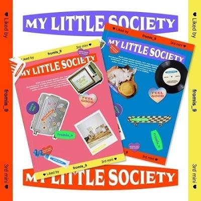 My Little Society: 3rd Mini Album (ランダムバージョン) CD