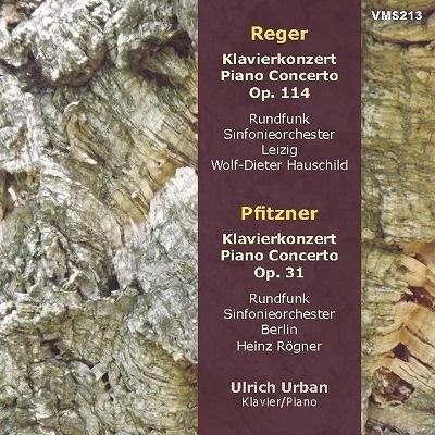 ウルリッヒ・ウルバン/レーガー&プフィッツナー: ピアノ協奏曲集[VMS213]