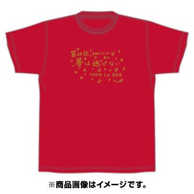 「AKBグループ リクエストアワー セットリスト50 2020」ランクイン記念Tシャツ 12位 レッド × ゴールド L Apparel