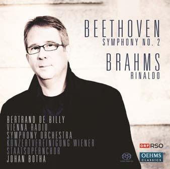 ベルトラン・ド・ビリー/Beethoven: Symphony No.2 Op.36; Brahms: Rinaldo Op.50[OC673]