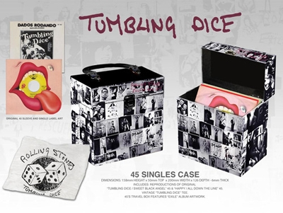 The Rolling Stones 45 Singles Case