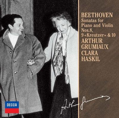 ベートーヴェン:ヴァイオリン・ソナタ第8番・第9番≪クロイツェル≫・第10番<限定盤>