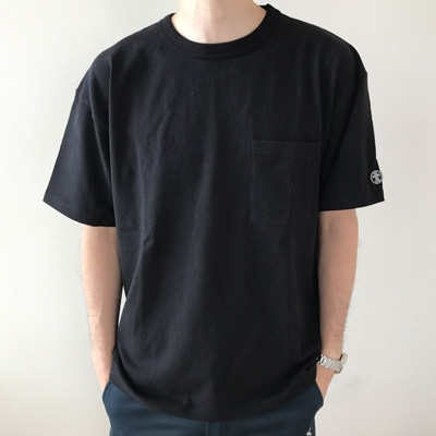 WTM×Goodwear BIG-T ブラック Mサイズ [WTM-140]