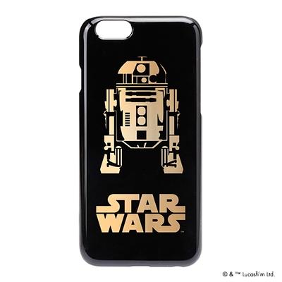 STARWARS iPhone 6用 ハードケース 金箔押し R2-D2 [PG-DCS923R2]