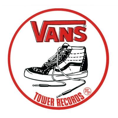 VANS×TOWER RECORDS SK8 Hi Sticker Accessories